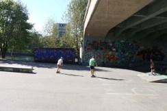 24 hours in Zurich Switzerland Kids skateboarding