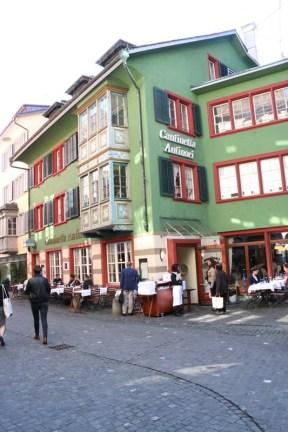 24 hours in Zurich Switzerland green building gothic