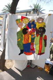Painting at Barcelona Spain