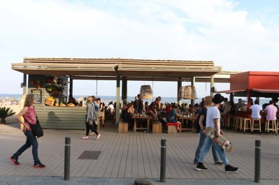 Visit the beach while in Barcelona it is a must