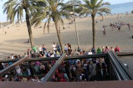 Visit the beach while in Barcelona it is a must beach parties