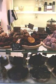 Chocolate addicts in Barcelona