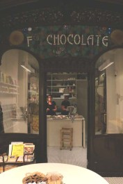 Chocolate addicts in Barcelona