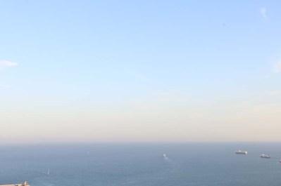Sea of Barcelona serene