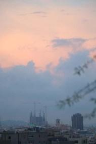 Sunset magic skies