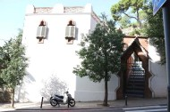 Authentic old architecture of barcelona