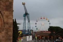 1910 amusement park Tibidabo Barcelona