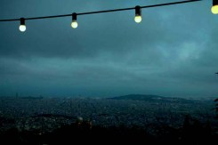 Amusement park lights