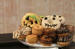 Halloween donuts In barcelona you can find many hipster unusual artistic shops