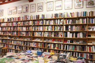 Library Streets of barcelona artsy