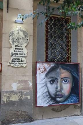Arts streets Streets of barcelona artsy