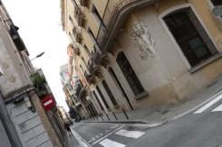 Neighborhood Streets of barcelona artsy
