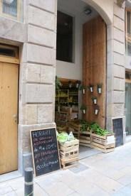 Market Streets of barcelona artsy