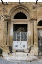 Al Salt, AsSalt, Al-Salt, AlSalt, Jordan, old white door, antique 1800 house
