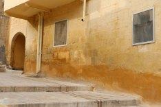 Al Salt, AsSalt, Al-Salt, AlSalt, Jordan, Nablus soap orange wall coloring of architecture of the 1900