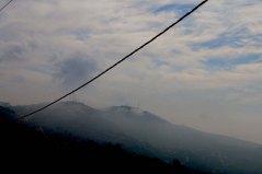 Al Salt, AsSalt, Al-Salt, AlSalt, Jordan, Cloudy foggy mountains