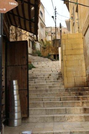 Al Salt, AsSalt, Al-Salt, AlSalt, Jordan، مدينة السلط الاردن, ancient city and architecture , old town, old stairs