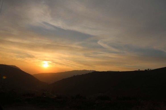 Sunset Jordan