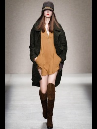 camel dress and coat Earth colors ready to wear