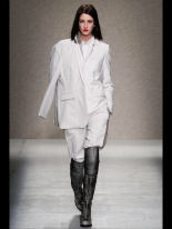 white suites grey scale outfits