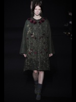 green coat Earth colors ready to wear