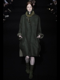 Olive oil long coat Favorite coats for this fall winter 2014 2015 ready to wear collections