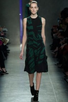 green dress Earth colors ready to wear