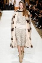 white dress Fur for winter
