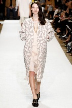Light color knee length Favorite coats for this fall winter 2014 2015 ready to wear collections