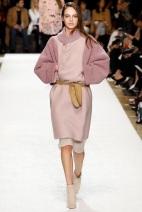 pink blush dress fall winter ready to wear