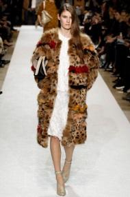 brown coat Fur for winter