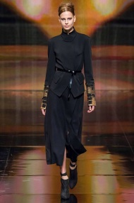 Belt emphasis ready to wear winter collection