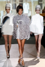 grey fur fall winter ready to wear