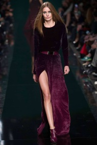 burgundy Belt emphasis ready to wear winter collection