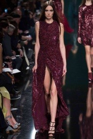 burgundy Winter Evening gowns