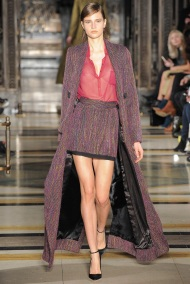long tweed burgundy coat Favorite coats for this fall winter 2014 2015 ready to wear collections