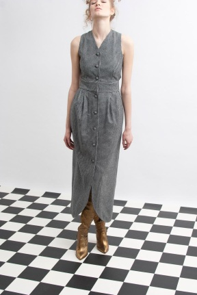 grey dress grey scale outfits