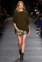 brown sweater and skirt Earth colors ready to wear