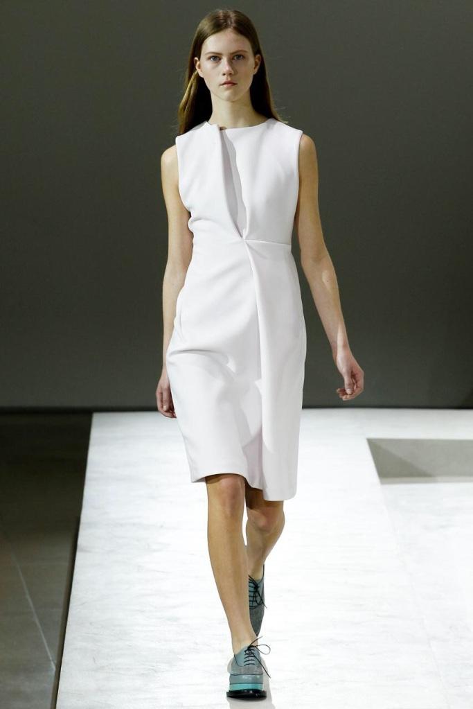 white dress classic looks