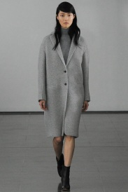 grey coat grey scale outfits