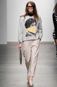 grey sweater and pants grey scale outfits