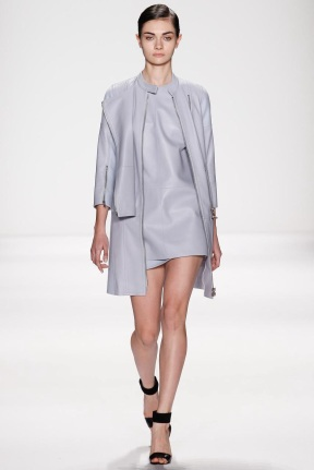 grey Head to toe one Mono color winter ready to wear