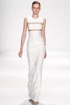 white dress fall winter ready to wear