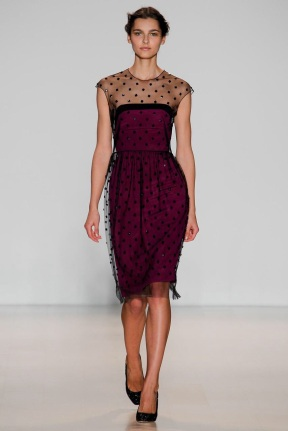 red polka dots dress Evening gowns and dresses