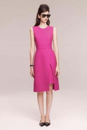 pink dress classic looks