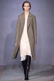 grey knee length classic coat Favorite coats for this fall winter 2014 2015 ready to wear collections