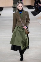 green skirt and top Earth colors ready to wear