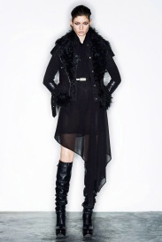 leather winter ready to wear