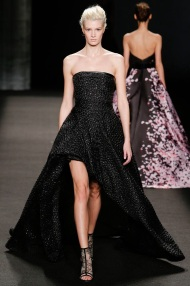 black Winter Evening gowns