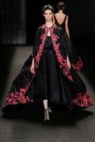 long red wine dress